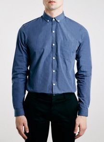 Topman Long sleeve button down smart shirt