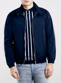 Topman Cotton harrington with check lining