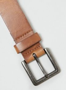 Topman Leather Look Belt
