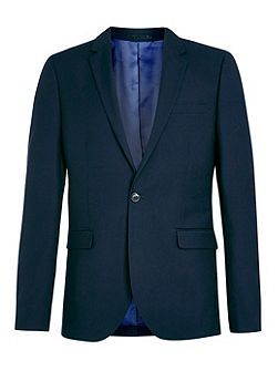 Skinny fit suit jacket