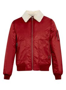 Topman Nylon flight jacket