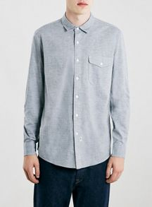 Topman Ltd core tri-marl shirt