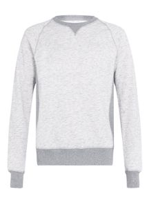 Ltd core bone marl sweatshirt