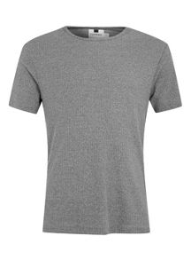 Topman Textured ribbed t-shirt