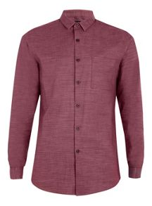 Topman Long sleeve texture shirt