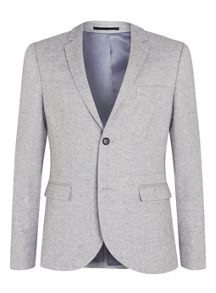 Warm handle skinny fit blazer