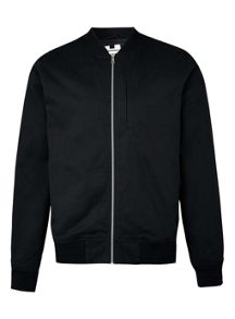 Topman Cotton black  bomber