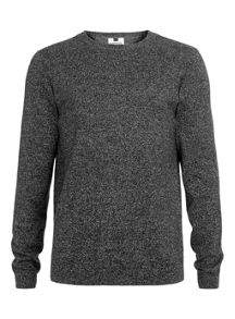 Topman Twist crew neck jumper