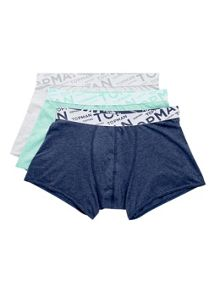 Multi marl 3 pack underwear