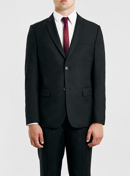 Topman Slim fit suit jacket