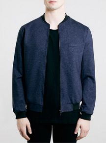 Jersey tailored bomber