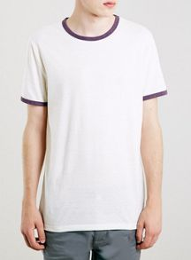 Ringer slim fit t-shirt