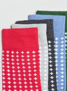 Multi 5 pack socks