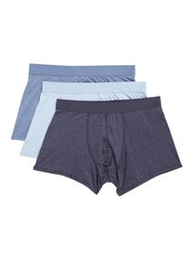 Blue 3 pack underwear
