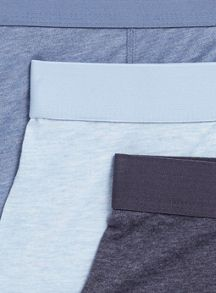 Topman Blue 3 Pack Underwear