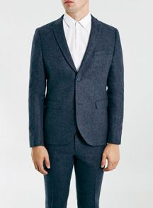 Topman Warm handle skinny fit suit jacket