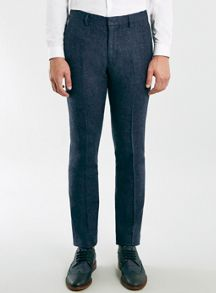 Topman Skinny fit warm handle suit trousers