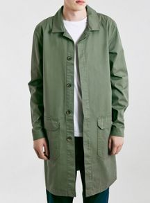 Topman Ltd core waxed utility duster