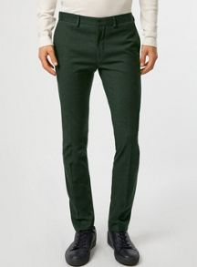 Ultra skinny fit suit trousers