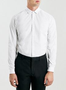 Long  sleeve dot shirt