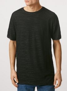 Topman Short sleeve mesh t-shirt