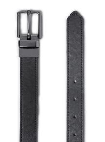 Topman Leather look reversible belt