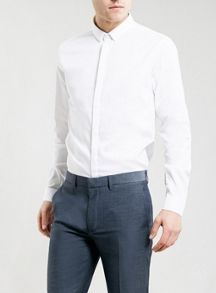 Long sleeve smart oxford