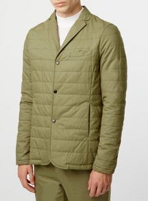 Topman Co-ord Collection Quilted jacket