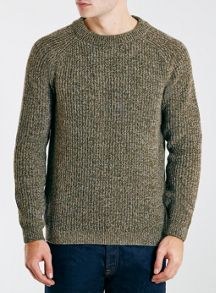 Topman Ltd core lambswool crew