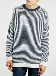 Ltd core fisherman stripe crew