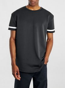 Topman Sheer stripe t-shirt