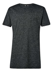 Topman Slim long line t-shirt