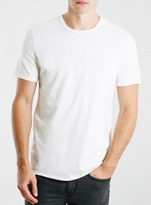 Open ended cotton t- shirt