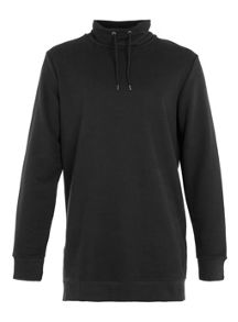 Topman Long sleeve funnel neck sweat