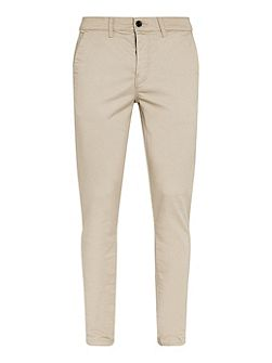 Stone stretch skinny chino