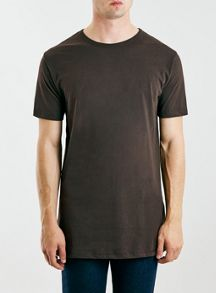 Topman Long line fit t-shirt