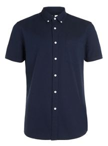 Topman Short sleeve oxford casual shirt