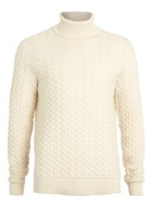 Topman Ltd core rollneck jumper