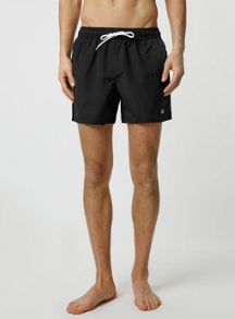 Topman Black Swim Shorts
