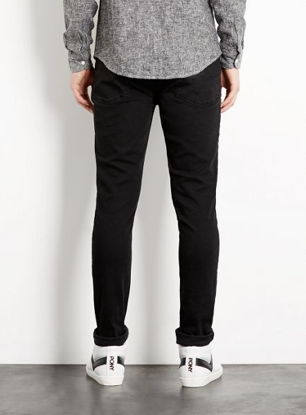 Topman Coated stretch skinny
