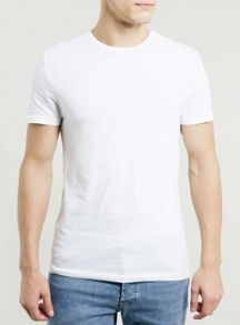 Topman Slim crew neck t-shirt
