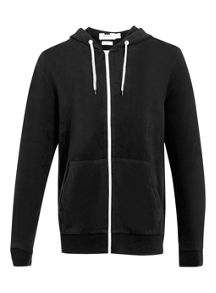 Topman Zip through hoodie