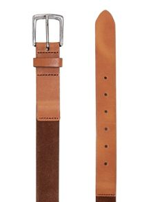 Topman Suede and Leather Belt