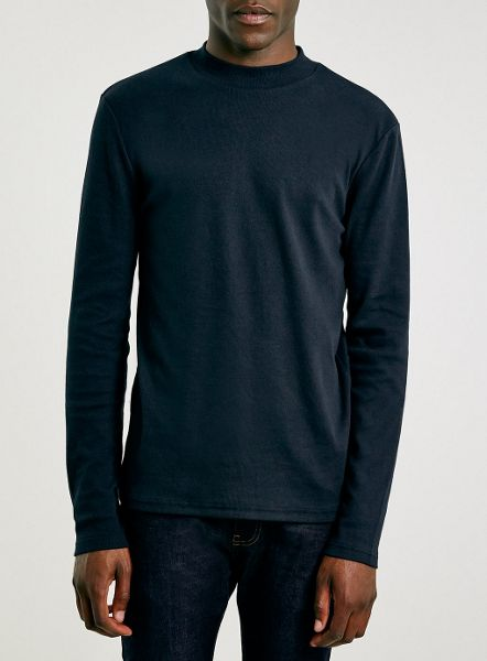 Topman Long sleeve turtle neck t-shirt