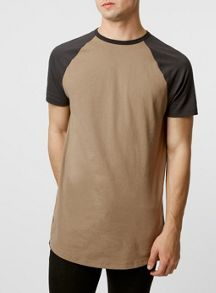 Raglan long line t-shirt