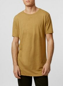 Slubby long line t-shirt
