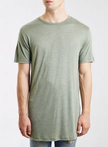 Topman Long line t-shirt