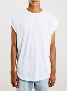 Topman Philly cap sleeve t-shirt