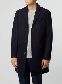 Topman Wool overcoat