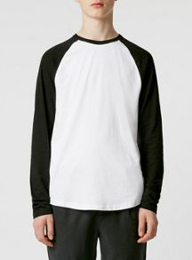 Topman Long sleeve raglan t-shirt